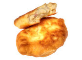 Pirojki. Traditional delicious Russian patty — Stock Photo