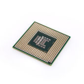 Processor on a white background — 图库照片