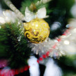 Christmas tree with toys. Background. — Stock Photo #49022305