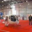 International Exhibition of Helicopter Industry — Stock Photo