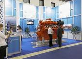 международная выставка нефтегаз — Стоковое фото