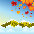 Royalty-Free Stock Vector Image: Autumn in mountain