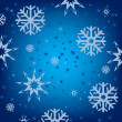 Stock Vector: Snow background