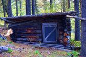 Baracca in legno — Foto Stock
