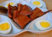 Fish Dish price sorts — Stock Photo
