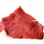 Isolated beef steak on white — Stock Photo #35767769