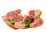 Damp meat — Stock Photo