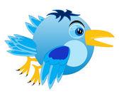 Cartoon of the birdie — Stock Vector