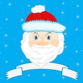 Festive Santa Claus — Stock Vector