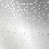 Silver mosaic abstract background — Stock Photo
