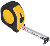 Single Tape measure — Stockvektor