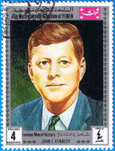John F. Kennedy, 35th President of USA — Stock Photo