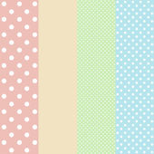 Vintage background from polka dot — Stock Photo