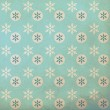 Vintage pattern with snowflake — Photo