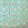 Vintage pattern with snowflake — Foto Stock