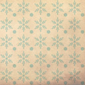 Vintage pattern with snowflake — Stock Photo