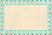 Vintage background, polka dot style — Photo
