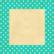 Vintage background, polka dot style — Stock Photo