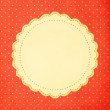 Vintage background, polka dot style — Stock Photo #30799863