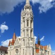 Matthias Church at Buda Castle, Budapest — Stock Photo