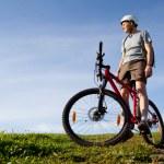 Mountain biker. — Stock Photo #1343959