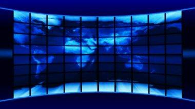 Virtual studio — Stock Video