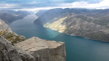Preikestolen — Stock Video