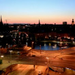 Stock Video: Evening Stockholm.