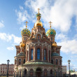 Church of the Resurrection Jesus Christ at St Petersburg, Russia — Stock Photo