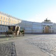 Palace Square in St.Petersburg, Russia — Stock Photo
