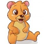Happy bear — Stock Vector #47437815