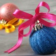 Christmas baubles — Stockfoto #18596571