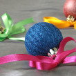 Christmas baubles — Stockfoto #18597173