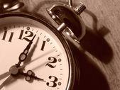 Alarm clock fragment — Stock fotografie