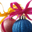 Christmas baubles — Stockfoto #18769663