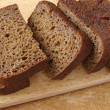 Black bread - Stock Photo