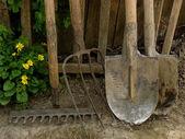 Garden tools — Стоковое фото