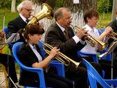 Brass band — Stock Photo