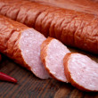 Royalty-Free Stock Photo: Smoked sausage