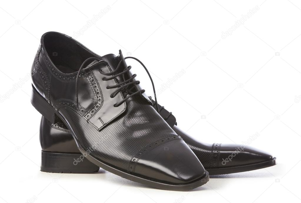 Elegant black shoes  Stock Photo #12951050