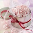 Pink meringue cookies — Stock Photo #15385527