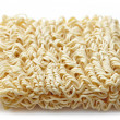 Raw chinese noodles - Stock Photo
