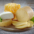 Various types of cheese — Stock Photo #25019253