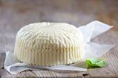 Fresh feta cheese — Stock Photo