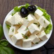 Fresh feta cheese — Stock Photo #25111313