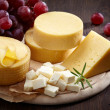 Various types of cheese — Stock Photo #25166977