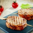 Stock Photo: Grilled pork meat