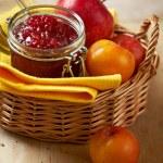 Apple and plum jam — Stock Photo #28291055