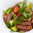 Roastbeef salad — Stock Photo