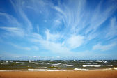 Landscape with sea and clouds — Stock Photo